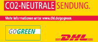 DHL GoGreen Co2-Neutraler Versand